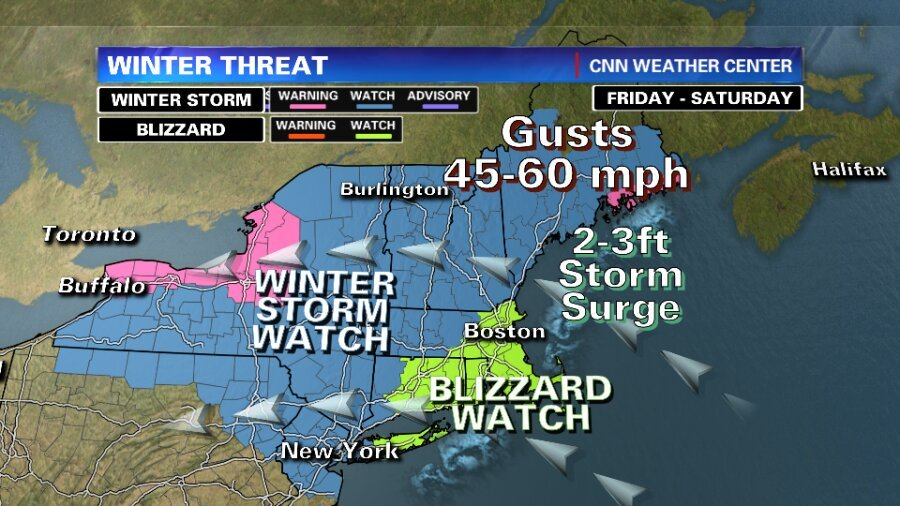 Monster Blizzard is Expected to Hit Northeastern US, Stay Safe