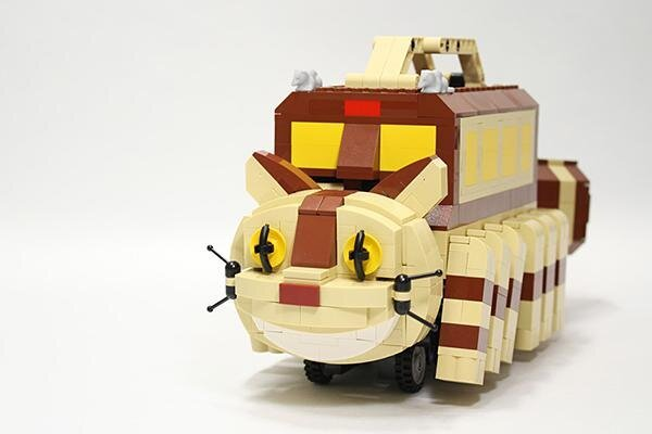 Lego Catbus, Another Awesome Lego Idea от Marinara за 11 feb 2013