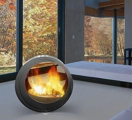 A Fireplace for Every Modernist от Marinara за 11 feb 2013