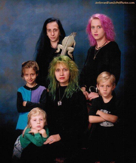 Awkward Family Pet Photos Couldn't Get Any More Awkward