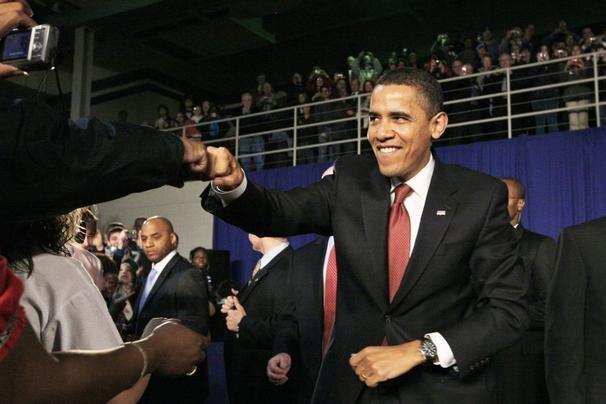 President's Fist-Bump, Wassup Bro