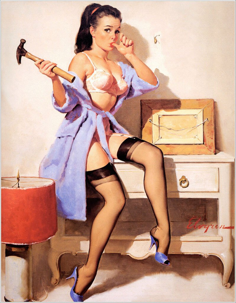 Sexy Pin-Up Art