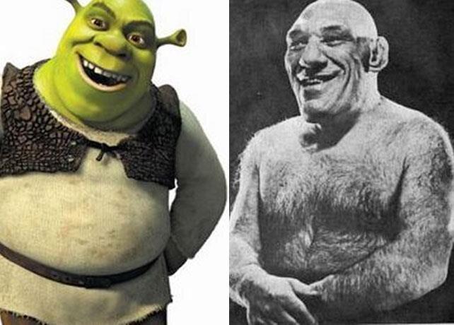 Meet Real-Life Shrek, Maurice Tillet  от Cassandra за 19 feb 2013