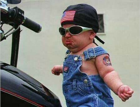 9 Babies that are Cooler Than You