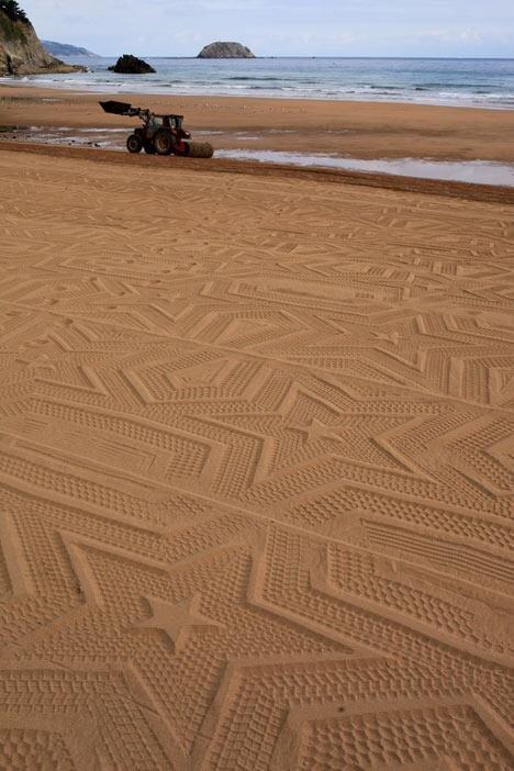 Sand Pattern Machine