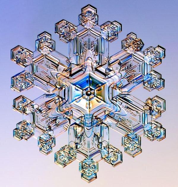 Snowflakes are The Nature's Fine Art от Marinara за 04 mar 2013