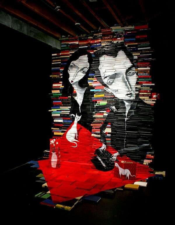 Art Made from Books, Amazing