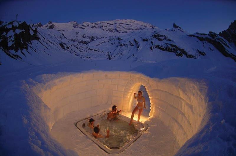 Zermatt, Switzerland: The Best Jacuzzi Ever от Marinara за 18 mar 2013