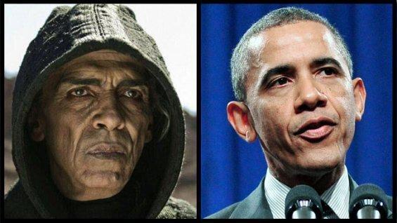 "Obama Look-A-Like Plays Satan In ""The Bible"" Mini-Series от Marinara за 18 mar 2013"
