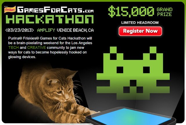"""Games For Cats"" Hackathon, By Purina, Awards"