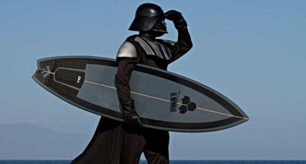 Even Star Wars Darth Vader Needs a Vacation от Marinara за 25 mar 2013