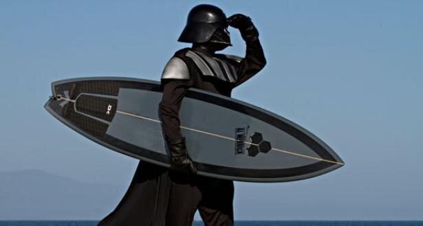 Even Star Wars Darth Vader Needs a Vacation