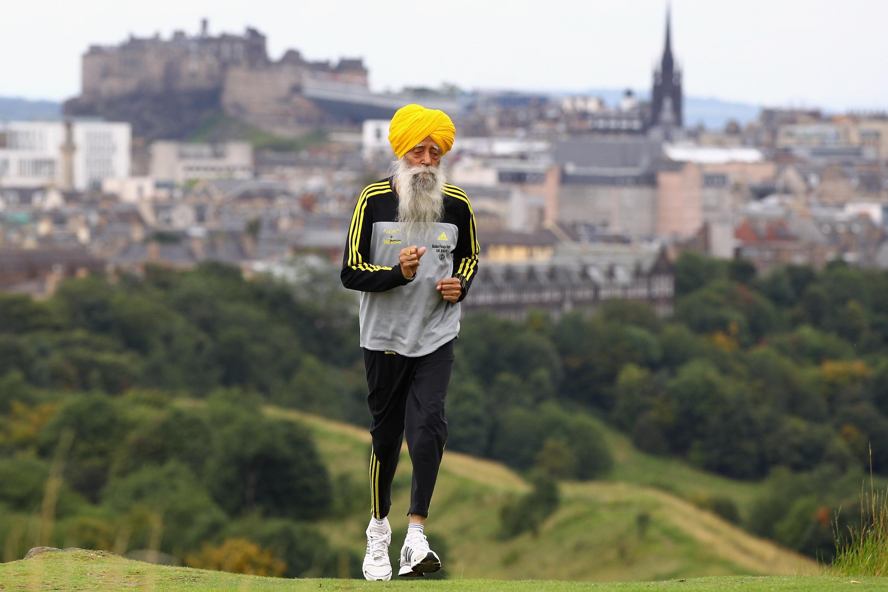 101-Year-Old Marathon Runner Fauja Singh