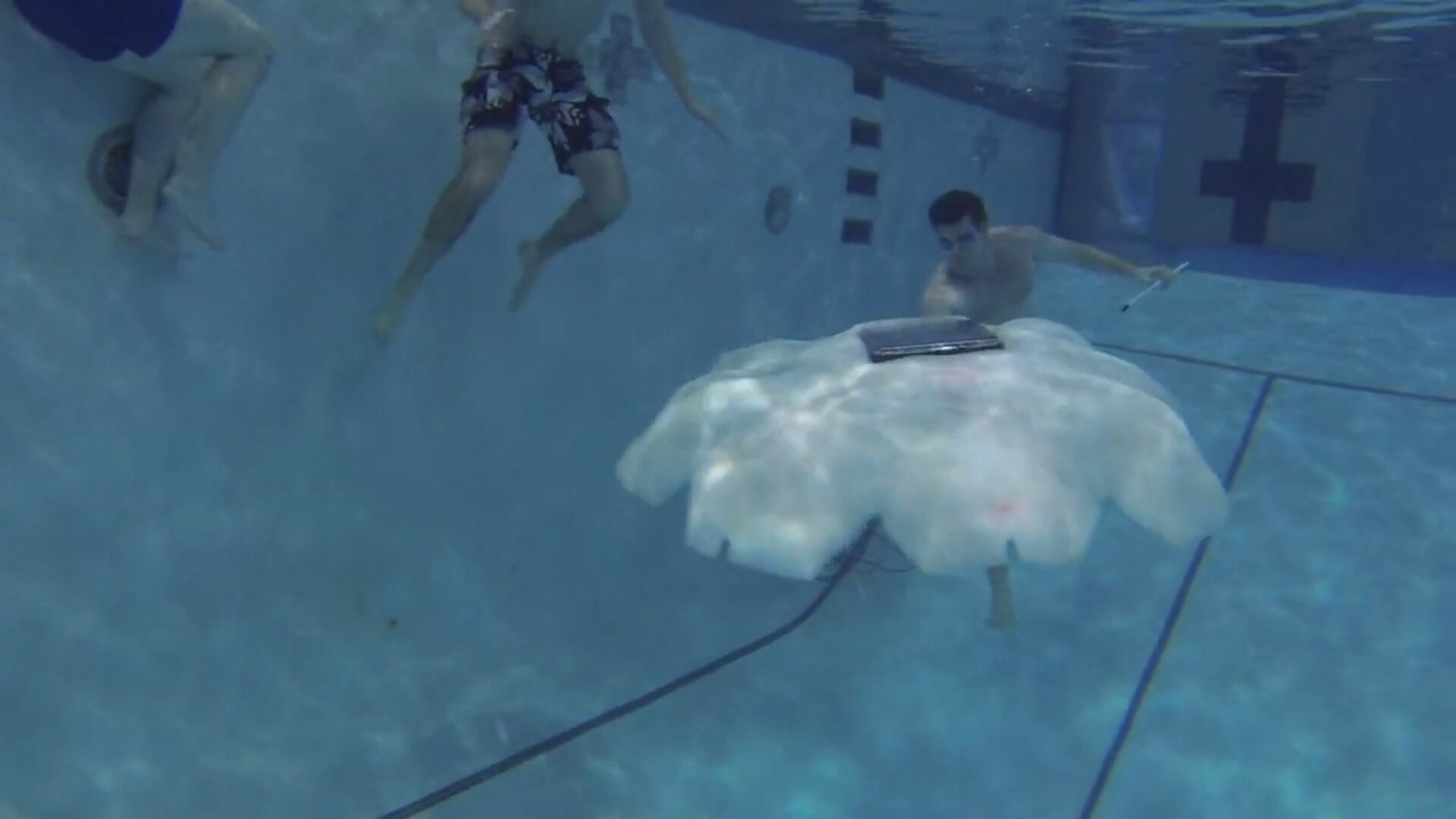 Robot-Jellyfish for Underwater Surveillance