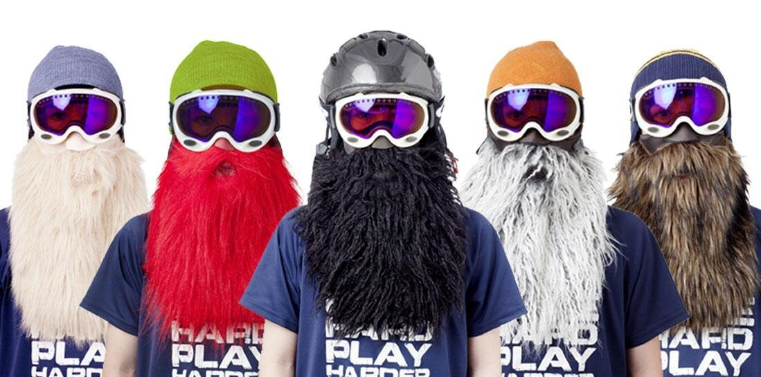 Beardski - Ski Mask with a Beard