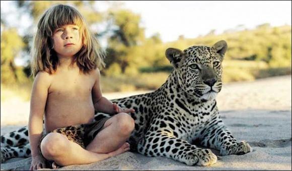 Real Life Mowgli - Tippi Hedren