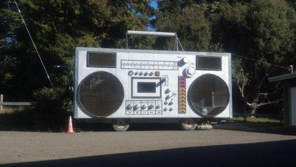 Giant Retro Boombox Car for Sale