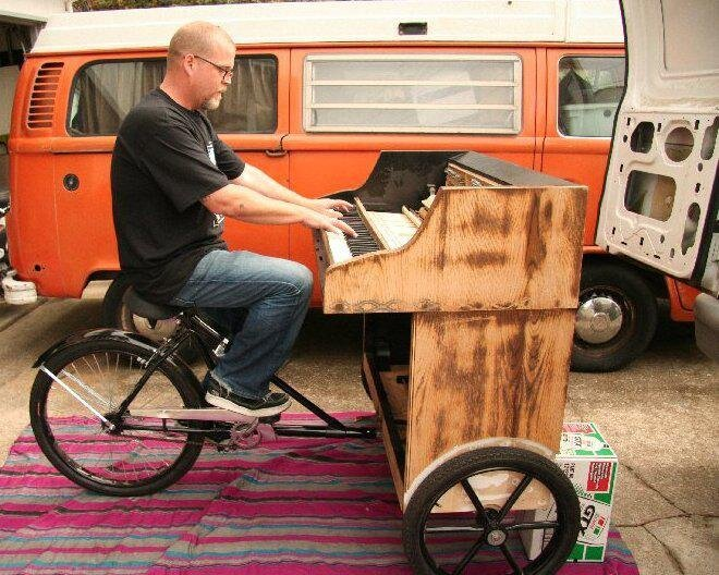 Piano Bike - Show off Your Piano Skills while Working Out!