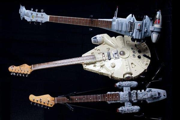 Star Wars Guitars от Marinara за 14 apr 2013