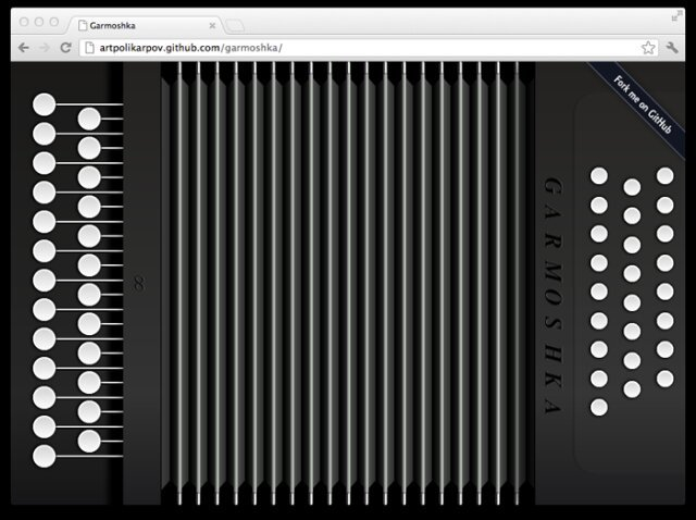 Play Accordion in Your Browser, Try It!