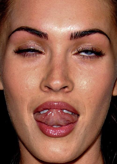Celebrity Close-Up, A Collection of Unflattering, Extremely Close Photos of Celebrities