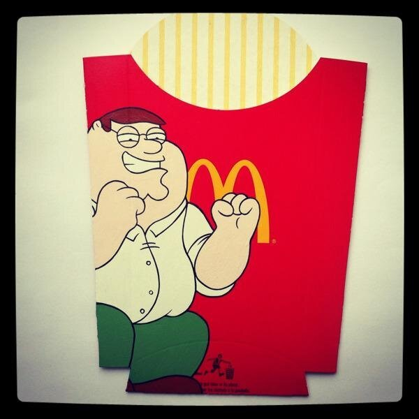 Pop Culture Characters with a Side of French Fries