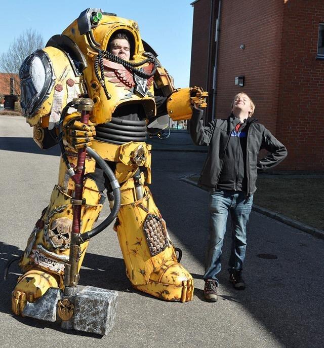 Best Robot Costume Ever!