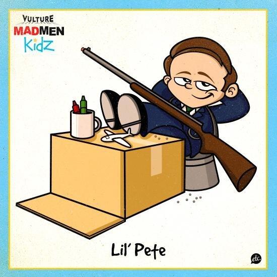 Mad Men Kidz, Show's Characters Reimagined as Kids