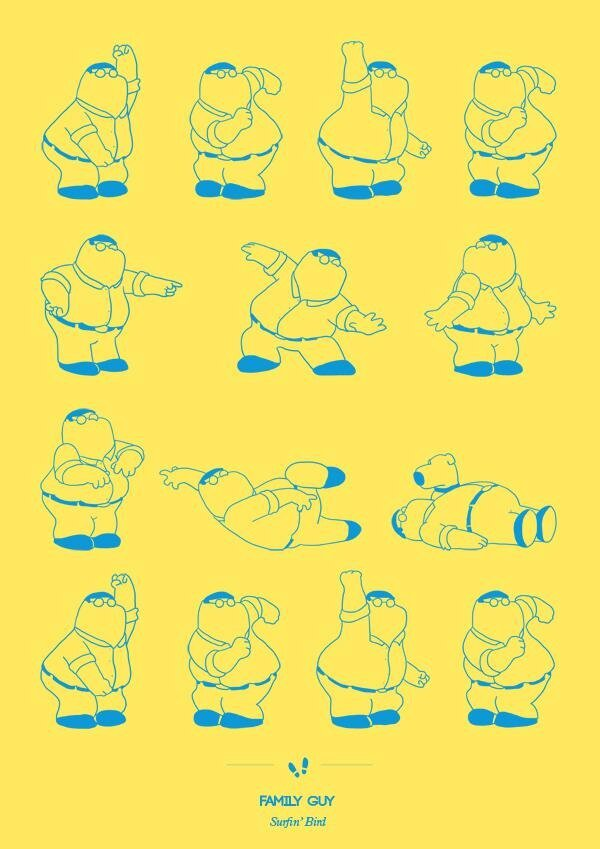 Dancing Plague,Cool Illustrations of Famed Dances From TV & Film