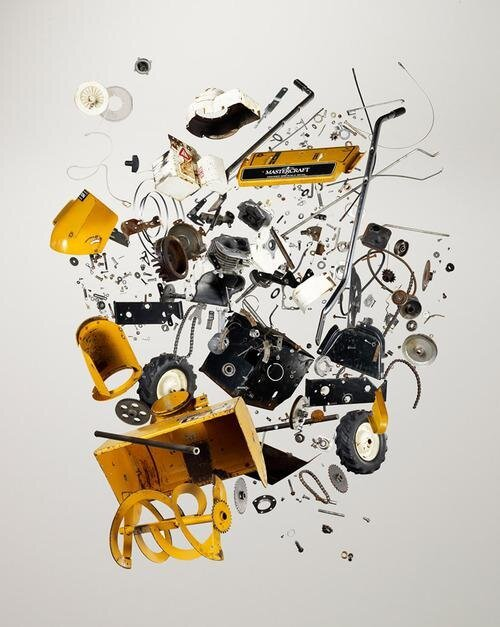 Technology Comes Apart in a Beautiful Photo Series by Todd McLellan