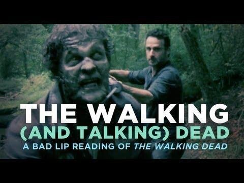 A Bad Lip Reading of 'The Walking Dead'