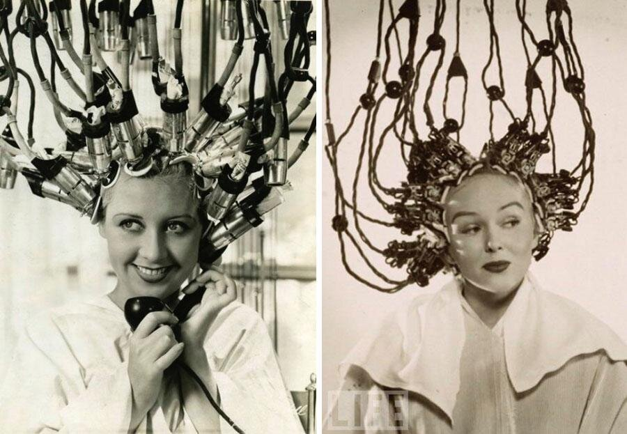 Hair Dryers of The Past Look Like Mind-Control Devices
