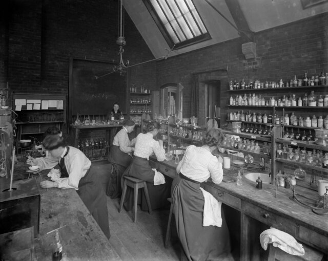 Beautiful Pictures of Early Science Labs