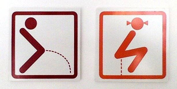 Creative and Funny Toilet Signs from Around the World от Helen за 14 may 2013