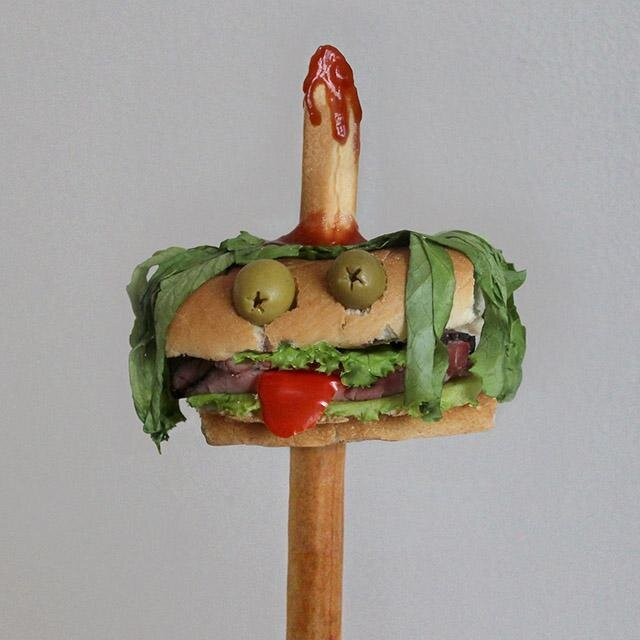 Creative Sandwich Creatures, Mmmm Delicious!
