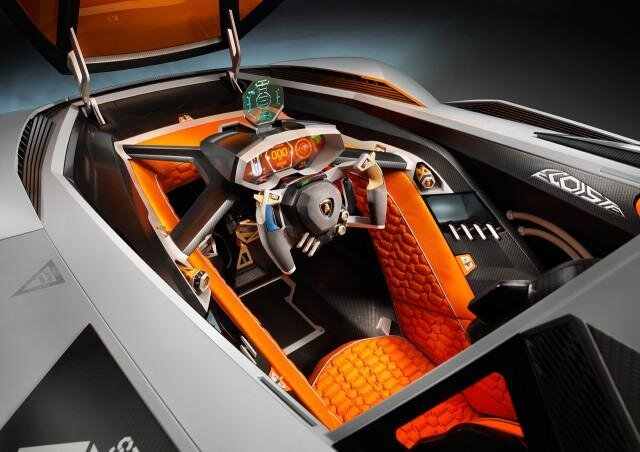 Lamborghini Egoista Concept for Selfish Supercar Owners от Marinara за 20 may 2013