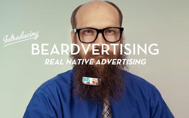 Beardvertising, Make Some Money with Your Beard!