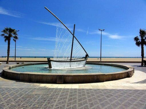 Spectacular Fountain Uses Water to Create a Form of a Sailboat от Marinara за 24 may 2013