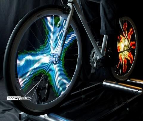 Monkey Light Pro, Innovative Color Displays for Your Bike's Wheels  от Marinara за 28 may 2013