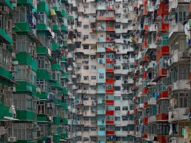 Photos of Hong Kong Apartment Towers that Will Make You Dizzy от Marinara за 30 may 2013