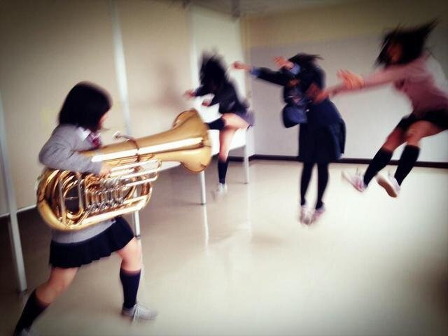 Tuba Guns, Another Clever Meme from Japanese Teens