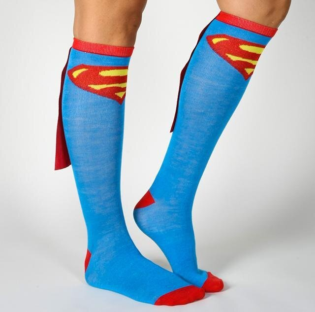Sexy Superhero Knee High Socks With Capes от Marinara за 23 jun 2013