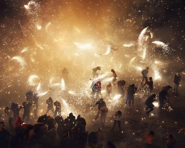 Jaw Dropping Photos of the National Pyrotechnic Festival in Tultepec, Mexico