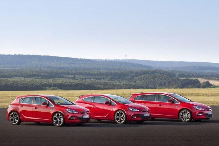 Модель Opel Astra получила мощный дизельный мотор (9 фото)