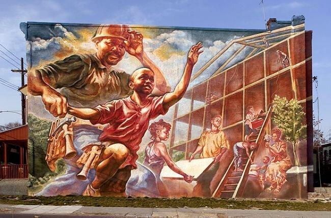 Огромные граффити (15 фото)