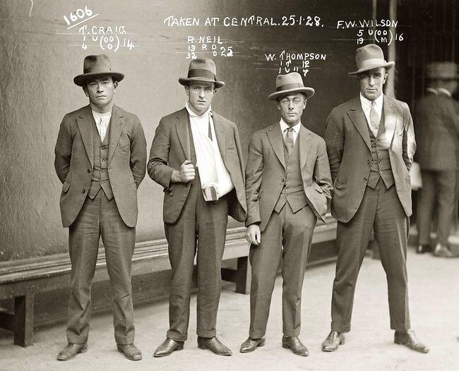Братки начала 20 века (18 фото)