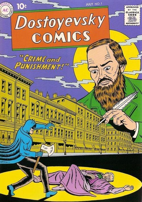 Бэтман + Достоевский = Raskol (11 сканов)