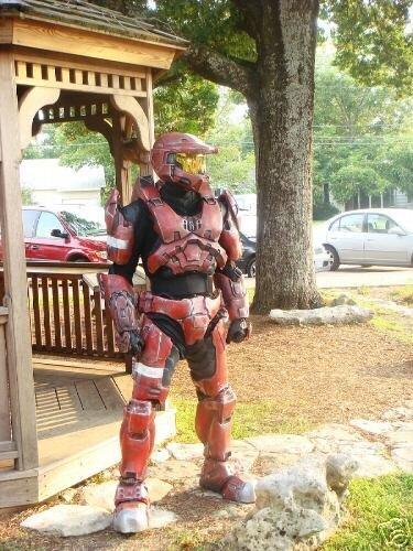 Halo костюм (12 фото)
