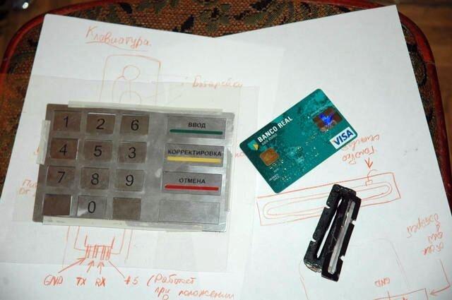Как крадут данные с кредитки (4 фото)