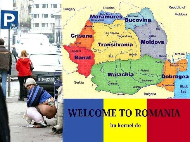 Добро пожаловать в Румынию (39 фото)